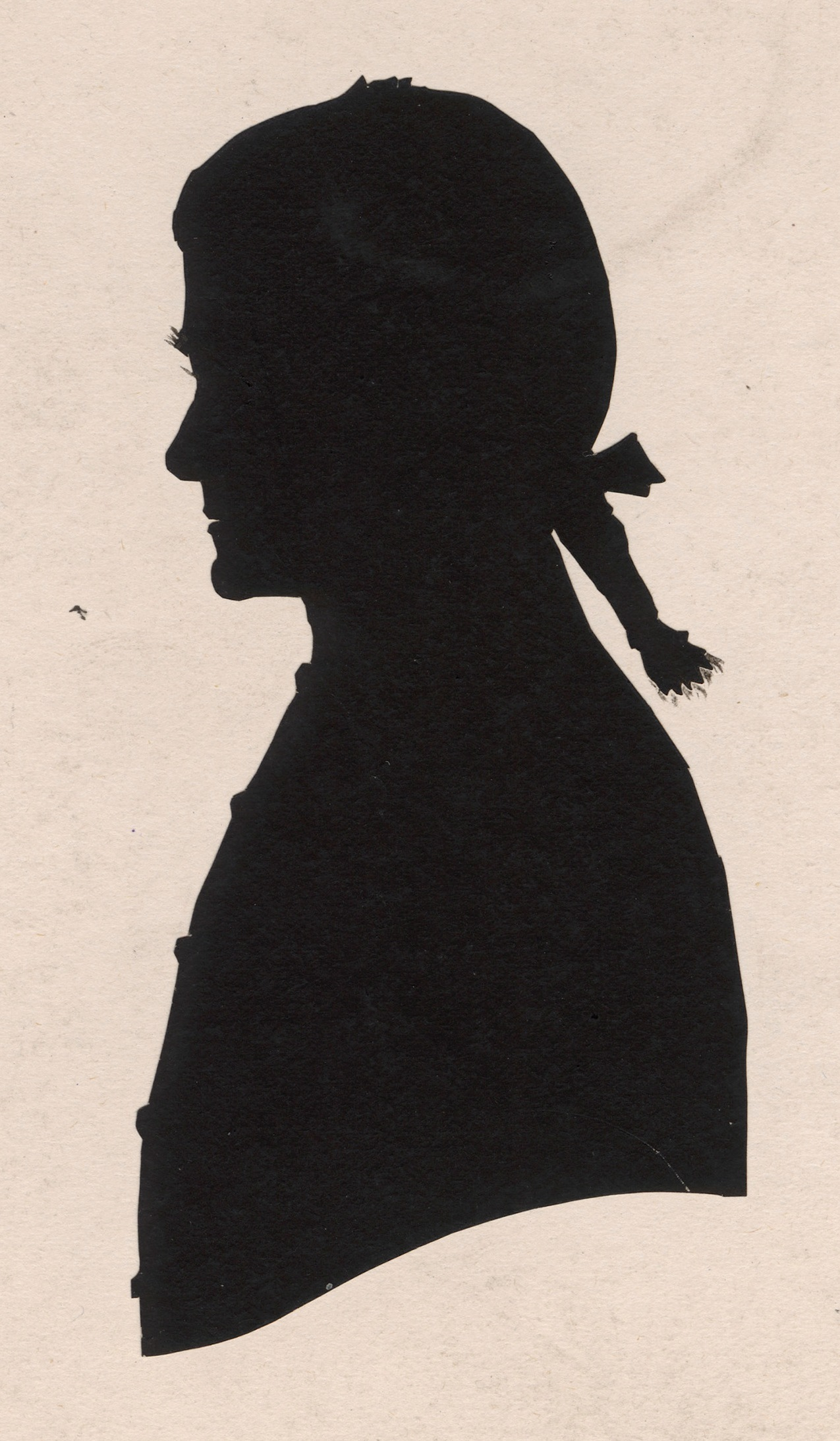 Horatio Nelson (1758-1805), Vice-Admiral and victor of Trafalgar, by Benjamin Pearce, silhouette, 1805. © National Portrait Gallery, London