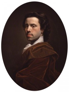 Self-portrait by Allan Ramsay (1713-84), oil on canvas, c.1737-1739. © National Portrait Gallery, London