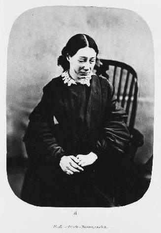 Portrait of E.J., a female patient diagnosed with acute melancholia (c. 1857-59) © The Bethlem Art and History Collections Trust