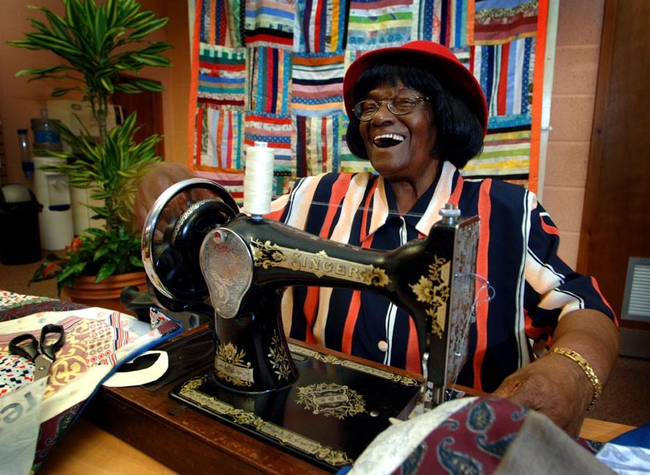 Pastora Barratt, participant in 'Golden Agers' club for African-Caribbean elders. © Bristol Black Archives Partnership/Bristol Record Office
