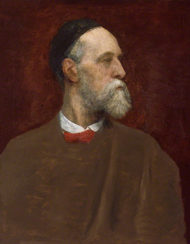 Self-portrait by by George Frederic Watts (1817-1904), oil on canvas, circa 1879. © National Portrait Gallery, London