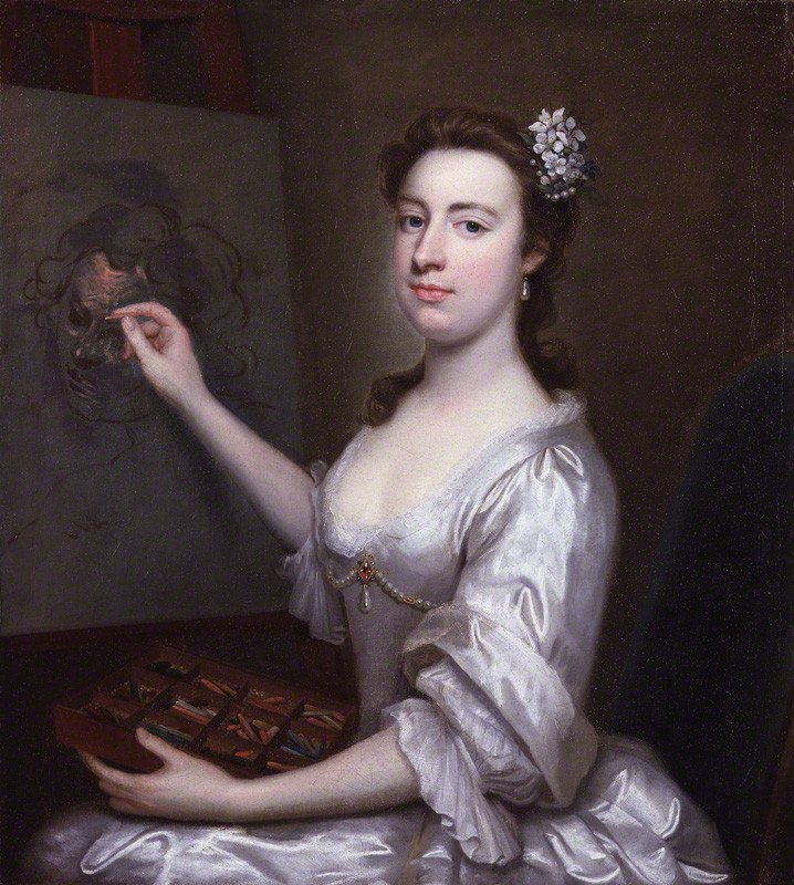 Rhoda (née Delaval), Lady Astley (1725-1757) attributed to Arthur Pond, oil on canvas, circa 1750. © National Portrait Gallery, London