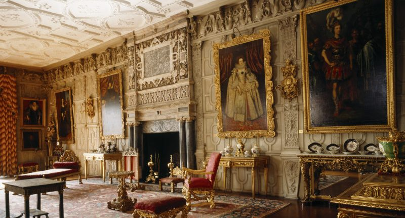 The Ballroom at Knole, Sevenoaks, Kent. © National Trust Images/Andreas von Einsiedel