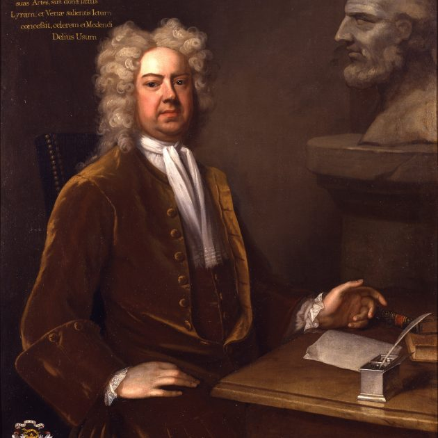 Dr John Freind (1675–1728) after Michael Dahl, c.1725, Royal College of Physicians. In 1725 RCP fellow Dr John Friend presented a petition to the House of Commons criticising the 'the fatal effects of the frequent use of several sorts of distilled Spirituous Liquors'.
