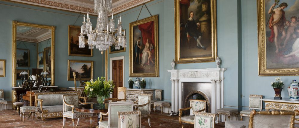 The Drawing Room at Attingham Park, Shropshire. ©National Trust Images/Andreas von Einsiedel. www.nationaltrust.org.uk