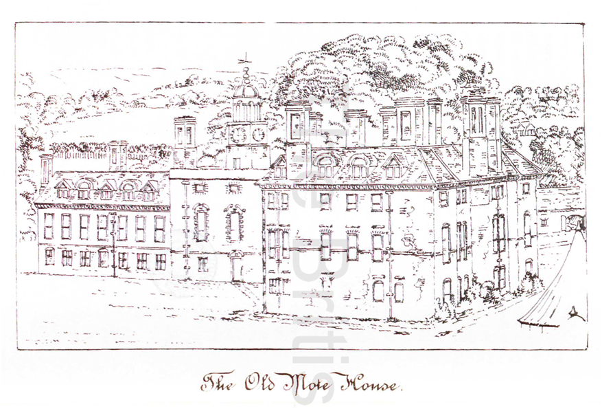 The History of Maidstone by J M. Russell, 1881, opposite page 335. The British Library