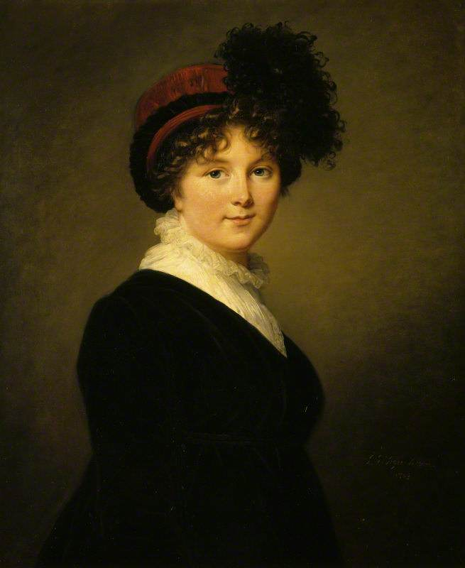 Arabella Diana Cope, Duchess of Dorset (1769-1825) by Elisabeth Louise Vigée-LeBrun, oil on canvas, 1803. National Trust, Knole, Kent © National Trust Images