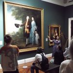Amina Wright, Senior Curator at the Holburne Museum, discussing Gainsborough's 'The Byam Family', c.1762
