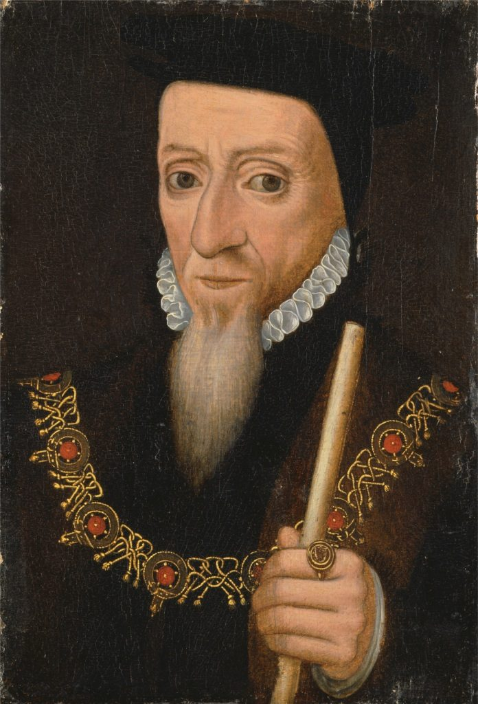 William Powlett, 1st Marquess of Winchester, K.G. by unknown British artist, oil on panel, c.1555/75 © Yale Center for British Art, Paul Mellon Collection.