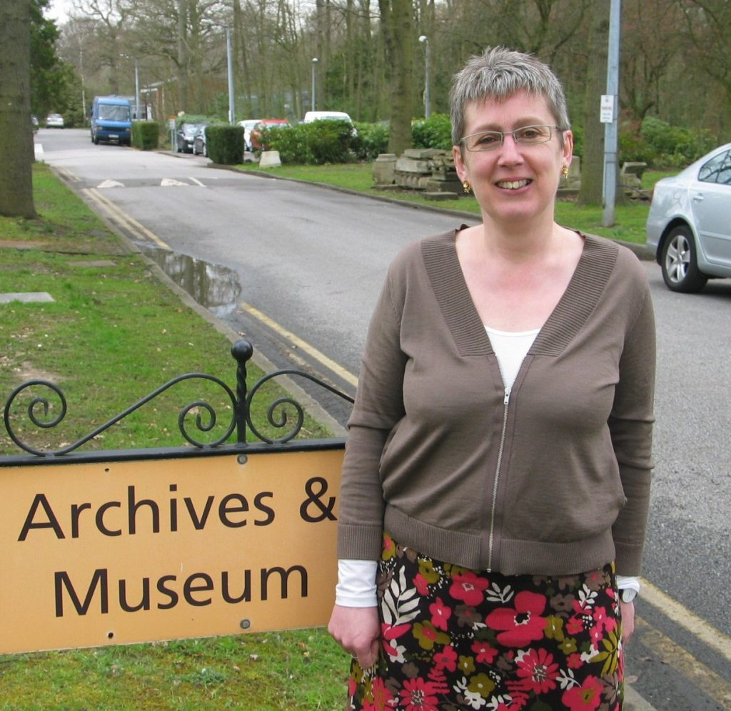 Caroline Smith, Education and Outreach, Bethlem Archives and Museum Service