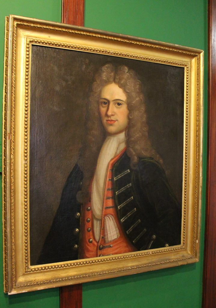 Portrait of John Fenton, c.1715 © Newcastle-Under-Lyme Borough Museum and Art Gallery
