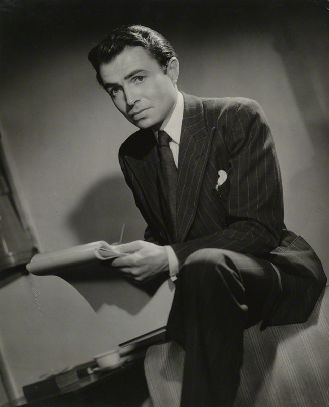 James Mason (1909-84), actor, by Fred Daniels. Vintage bromide print, c.1945 © Estate of Fred Daniels / National Portrait Gallery, London