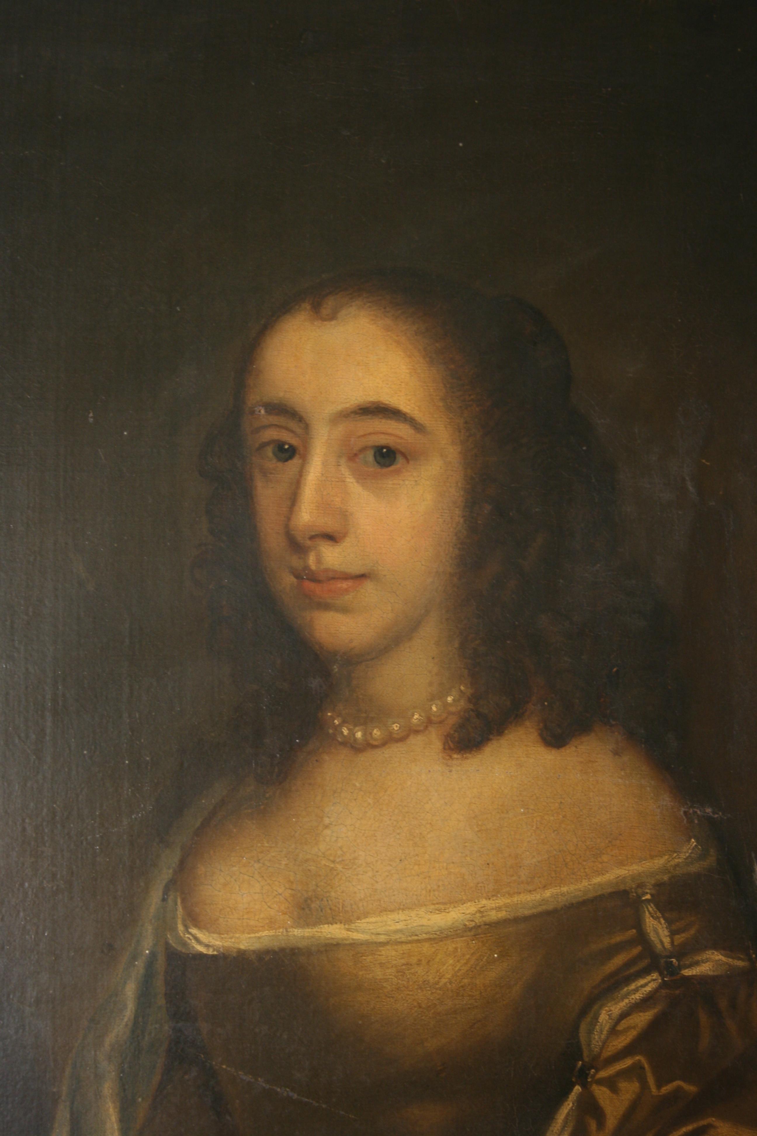 Possibly Elizabeth Fanshawe (1609-67/8) (detail) © Valence House Museum