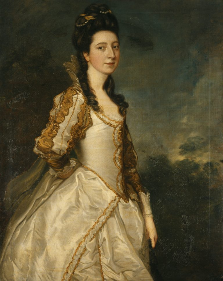 Susanna 'Suky' Trevelyan, Mrs John Hudson (1736-1779) by Thomas Gainsborough, oil on canvas, 1761. National Trust, Wallington, Northumberland © National Trust Images/Derrick E. Witty