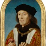 King Henry VII by unknown Netherlandish artist, oil on panel, 1505 © National Portrait Gallery, London