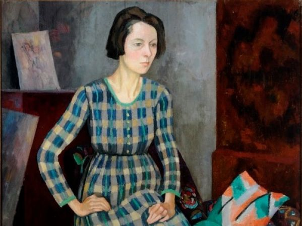 Portrait of Nina Hamnett by Roger Elliot Fry, oil on canvas, 1917. Image © University of Leeds