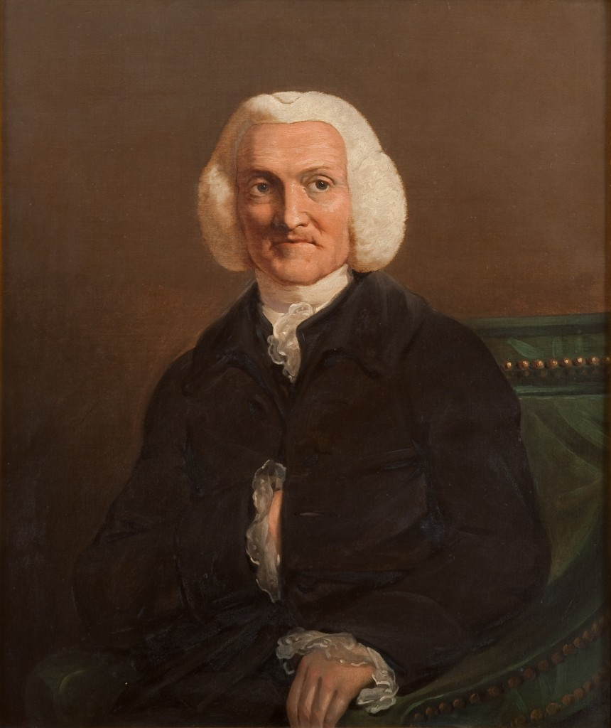 Dr William Hunter (1718-1783) by James Barry, c. 1784. Royal College of Physicians, London