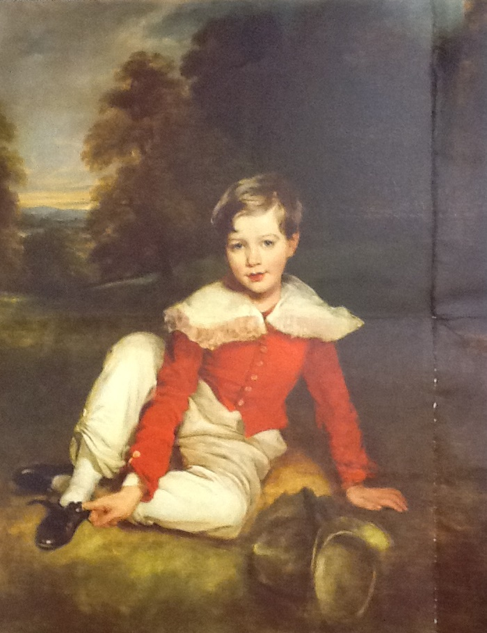 Portrait of a Boy (traditionally called Lord Seaham, later the 5th Marquess of Londonderry), 1827. Attributed to Margaret Carpenter (1793-1872), formerly attributed to Sir Thomas Lawrence. Formerly Mildred Anna Williams Collection at the Legion of Honor in San Francisco, current location unknown