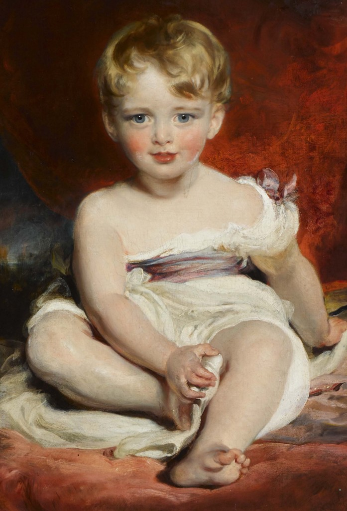 George Henry Robert Charles William Vane-Tempest, later 5th Marquess of Londonderry (1821-1884) as a Child by Sir Thomas Lawrence, PRA (1769-1830), 1828. Mount Stewart, co Down, Northern Ireland © National Trust / Bryan Rutledge.