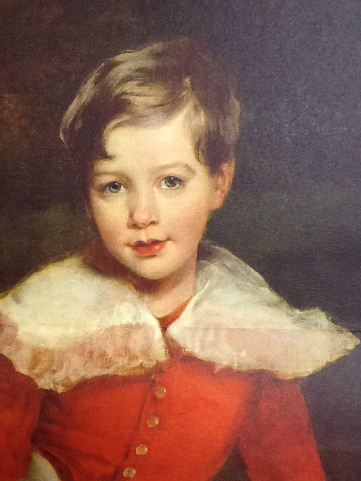Portrait of a Boy (traditionally called Lord Seaham, later the 5th Marquess of Londonderry), 1827 (detail). Attributed to Margaret Carpenter (1793-1872), formerly attributed to Sir Thomas Lawrence. Formerly Mildred Anna Williams Collection at the Legion of Honor in San Francisco, current location unknown.