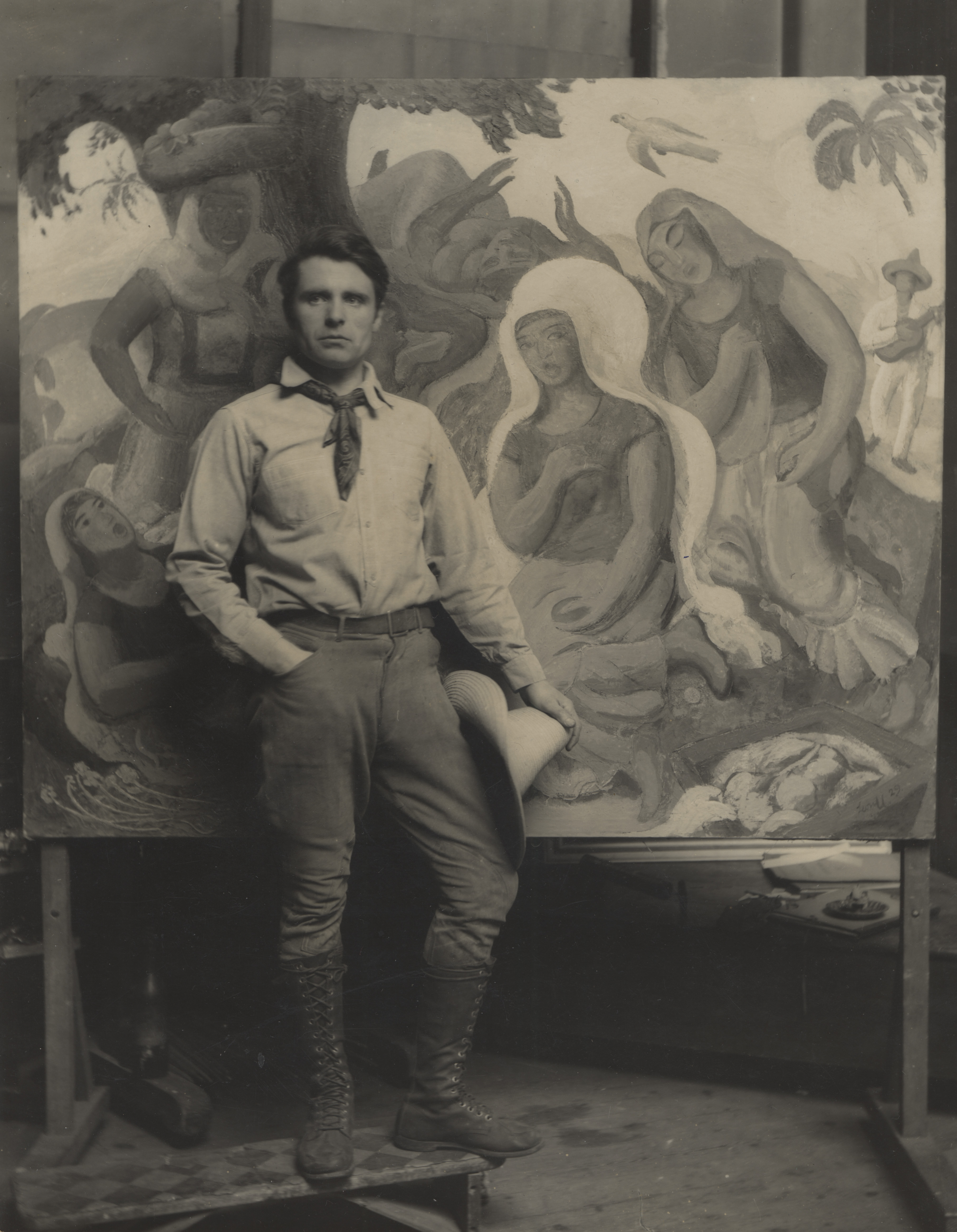 Leon Underwood © Estate of Leon Underwood and the Redfern Gallery, London