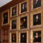 Display of Leaving Portraits. Reproduced by permission of the Provost and Fellows of Eton College © Eton College