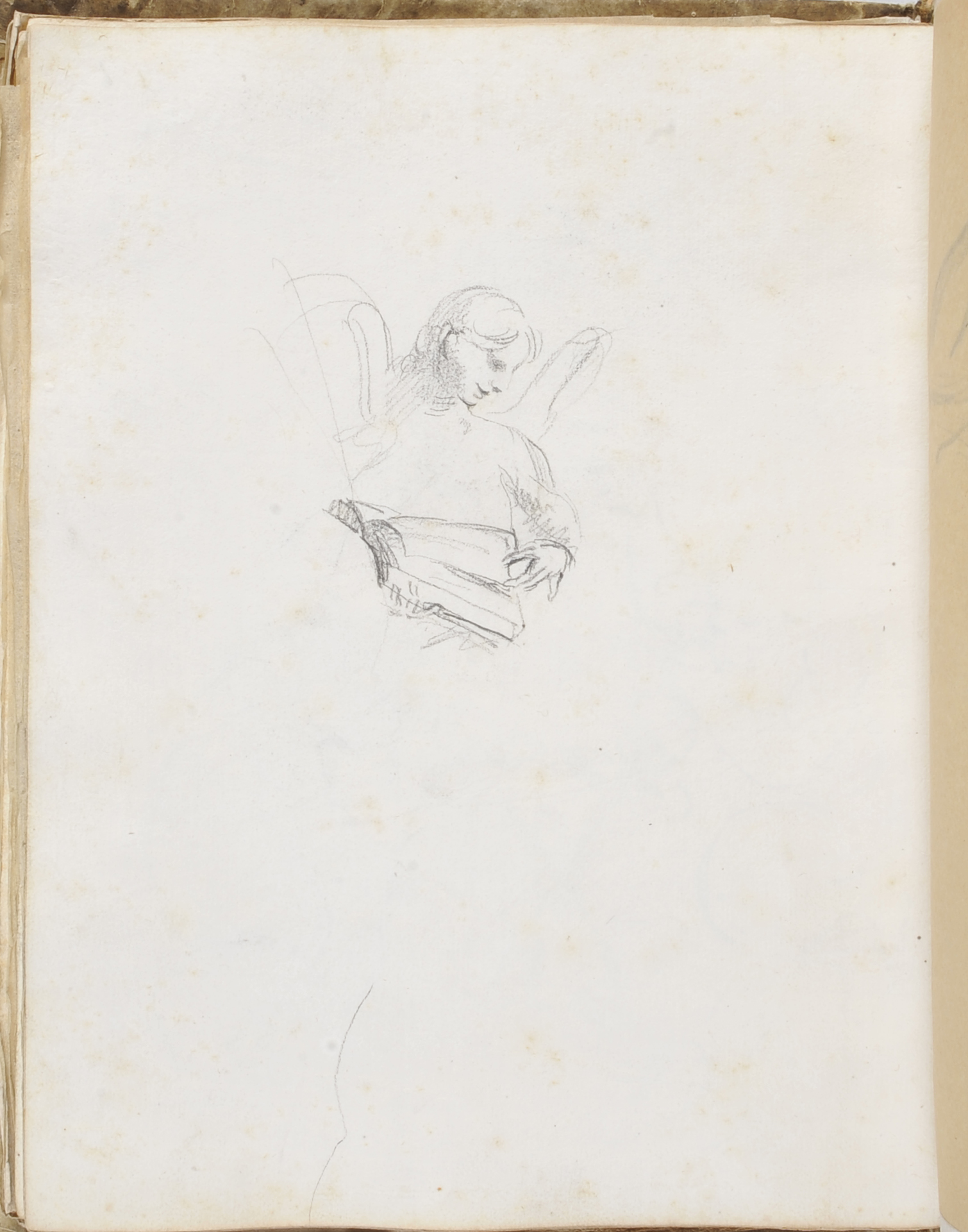 Reynolds Sketchbook (PLYMG Page 36v) by Joshua Reynolds © Plymouth City Council (Arts & Heritage)