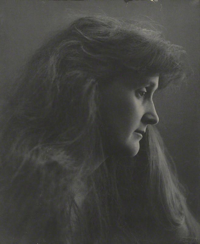 Leonora Piper, medium, by Eveleen Myers (née Tennant), platinum print, 1890 © National Portrait Gallery, London