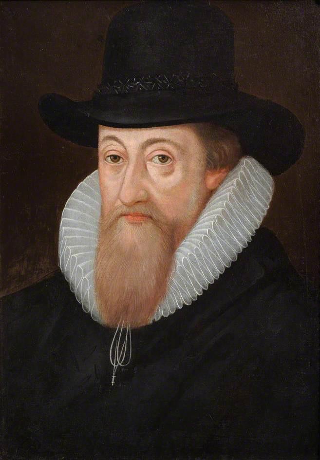 Henry Fanshawe of Jenkins (1506–68) by English School, c.1560 © Valence House Museum