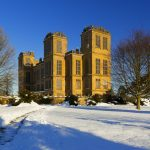 Hardwick Hall, Derbyshire, in the snow ©National Trust Images/Robert Morris