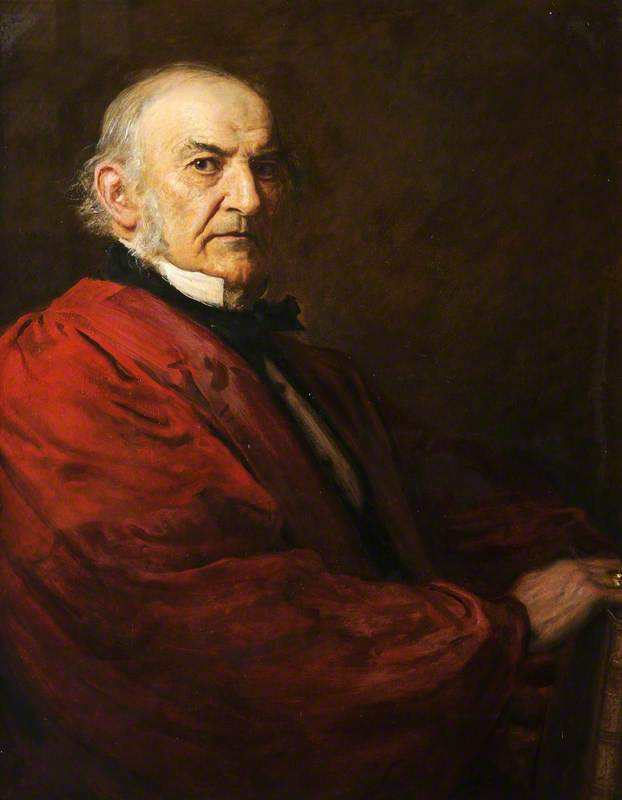William Gladstone by Sir John Everett Millais. By permission of the Governing Body of Christ Church, Oxford