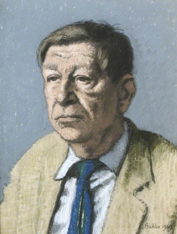 W.H Auden by Robert A. Buhler. By permission of the Governing Body of Christ Church, Oxford