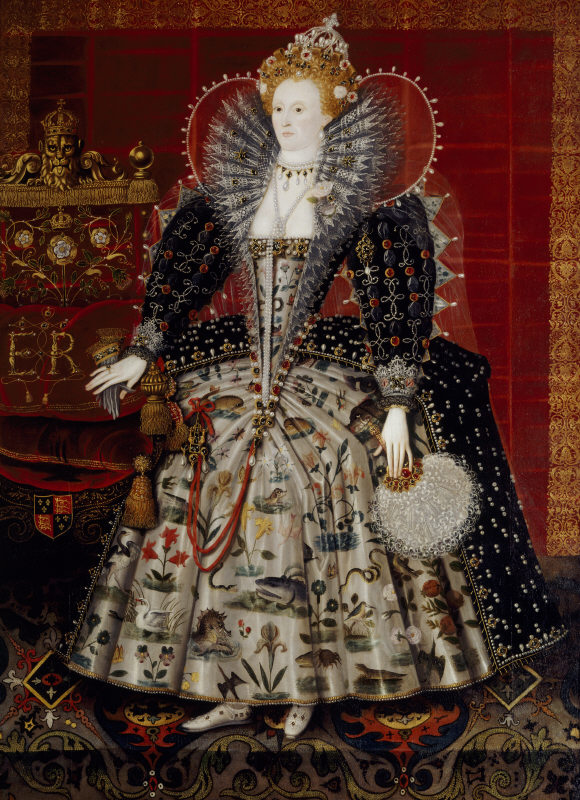 Queen Elizabeth I by English school, Hardwick Hall, Derbyshire © National Trust Images/John Hammond