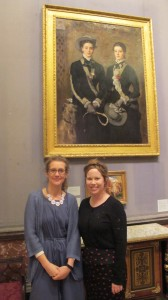 Dr Kate Noble, Education Officer, and Lucy Sercombe, Learning Associate, The Fitzwilliam Museum, Cambridge