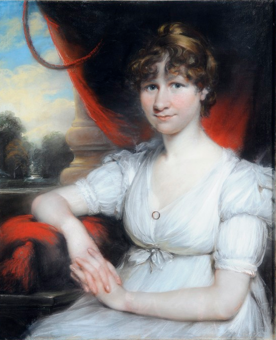 Jane Marshall by John Russell (1745-1806), pastel on paper laid on canvas, 1802. University of Leeds Art Collection