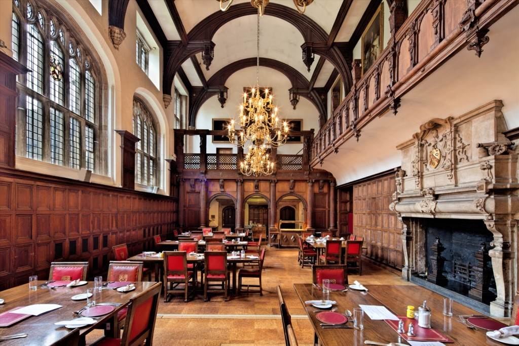 The Great Hall. Courtesy of The Charterhouse