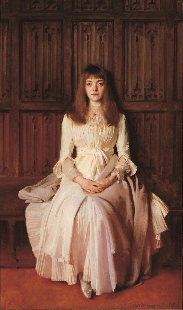 Young Lady in White (Elsie Palmer) by John Singer Sargent, oil on canvas, 1890 © Colorado Springs Fine Arts Center