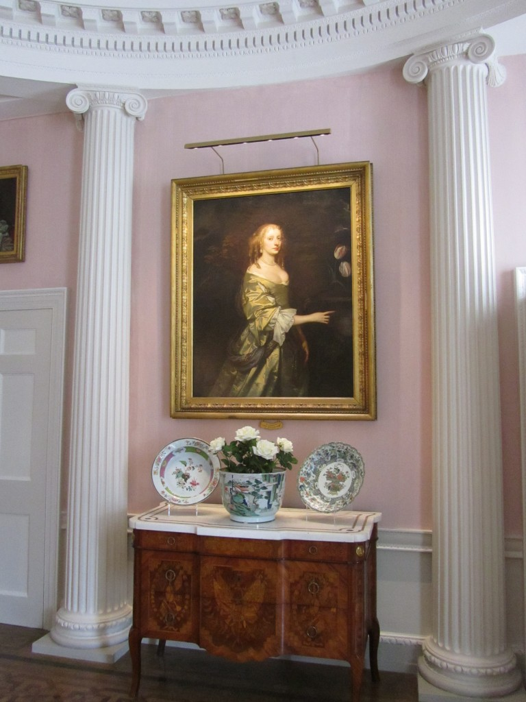 The Drawing Room is enhanced by Lely's portrait of Lady Wilbraham, for whom the Restoration house was built. Image by Emma Nock.