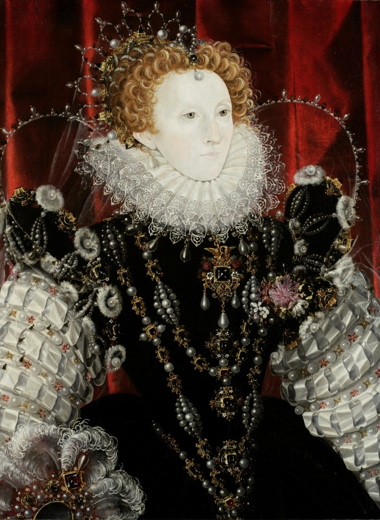 Queen Elizabeth I attributed to Nicholas Hilliard,16th Century. Waddesdon (Rothschild Family) © Hamilton Kerr Institute