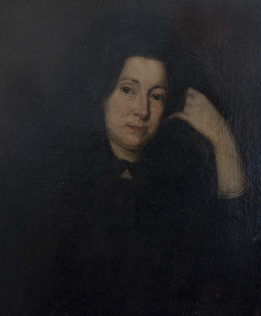 Portrait of Rachel, Lady Russell attributed to John Vanderbank. Weston Park Collection 101.0312