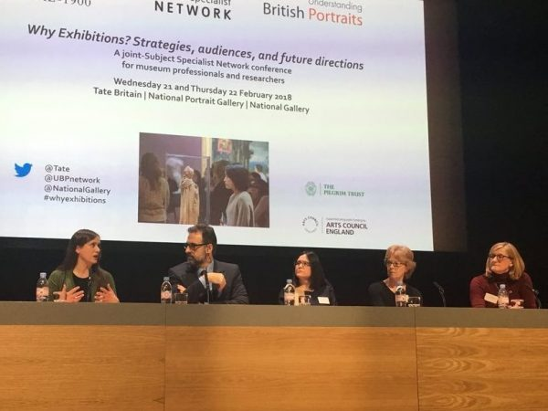 Panel discussion at the National Gallery, chaired by Gabriele Finaldi