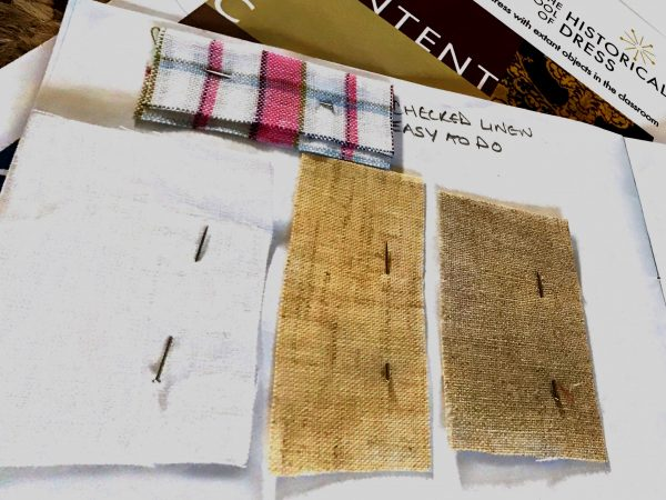 Catriona McIntosh's fabric samples