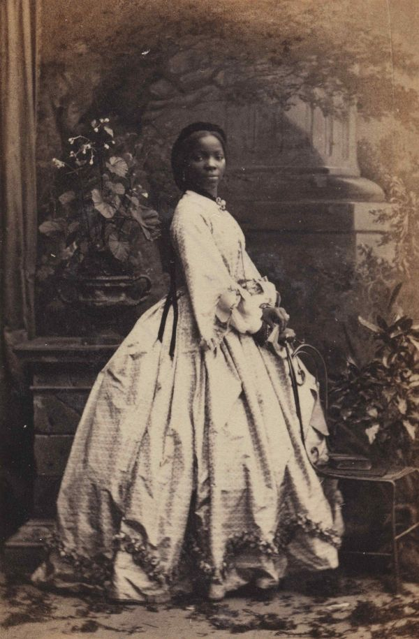 Sarah Forbes Bonetta (Sarah Davies), by Camille Silvy, 1862 © National Portrait Gallery, London