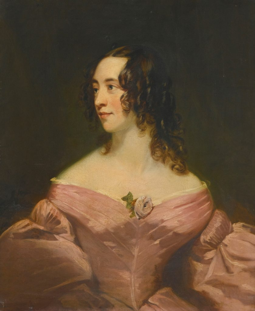 Unknown woman by Thomas Phillips, RA, probably early 1830s. Private collection UK