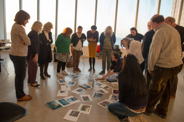 1)Photograph of Turner Contemporary's research group for their Journeys with 'The Waste Land' exhibition, https://www.turnercontemporary.org/exhibitions/journeys-with-the-waste-land
