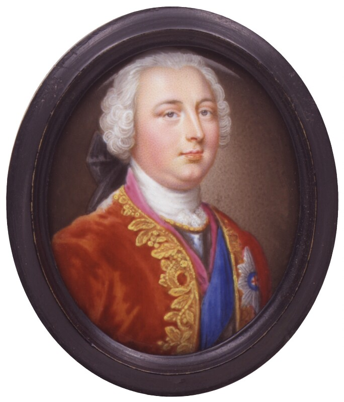 William Augustus, Duke of Cumberland, attributed to Christian Friedrich Zincke, enamel on copper, c.1743-1745. On loan to the Culloden Battlefield Visitor Centre © National Portrait Gallery, London