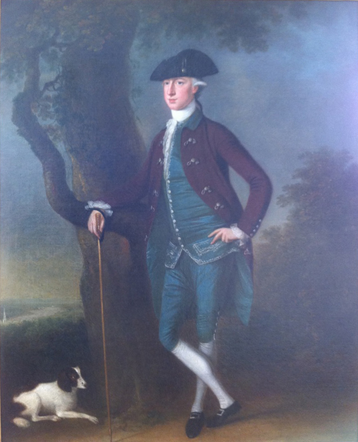 Francis Jenkins of Truro by Clifford, oil on canvas, private collection