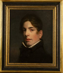 Portrait of an Actor of the Covent Garden Theatre Company, 1811, attributed to Henry William Pickersgill R.A.