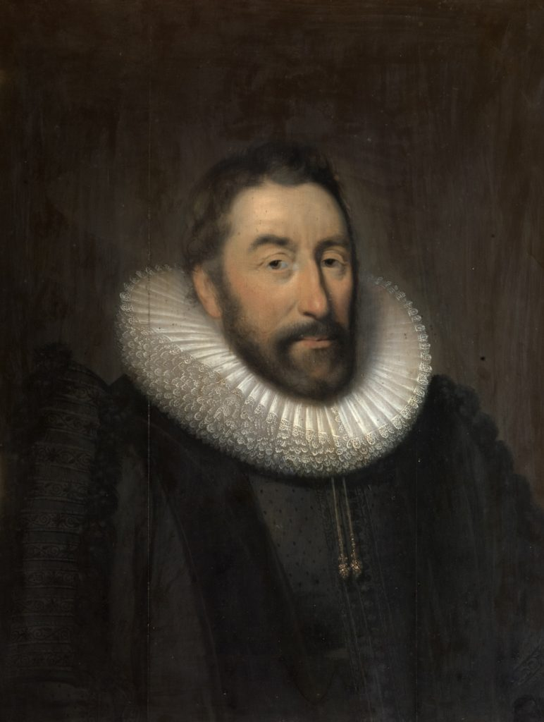 Walter Pye (1571 - 1635) by Cornelius Janssens van Ceulen, also called Cornelis Johnson or Cornelius Jonson (London 1593 - Utrecht 1661), Wallington, Northumberland www.nationaltrust.org.uk © National Trust Images