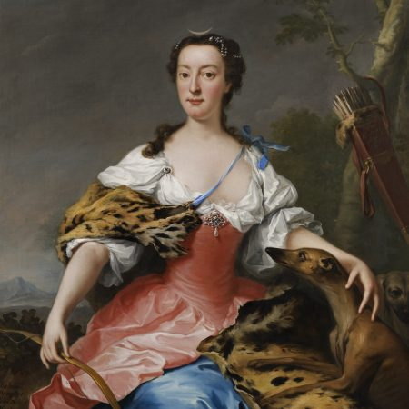 Isabella, Duchess of Manchester, by Andrea Soldi, 1738. Courtesy of Whitfield Fine Art